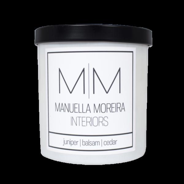 Juniper Balsam Cedar Candle Manuella Moreira Interiors