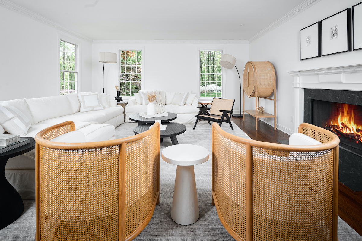 living-room-interior-design-cane-chairs-new-canaan-ct